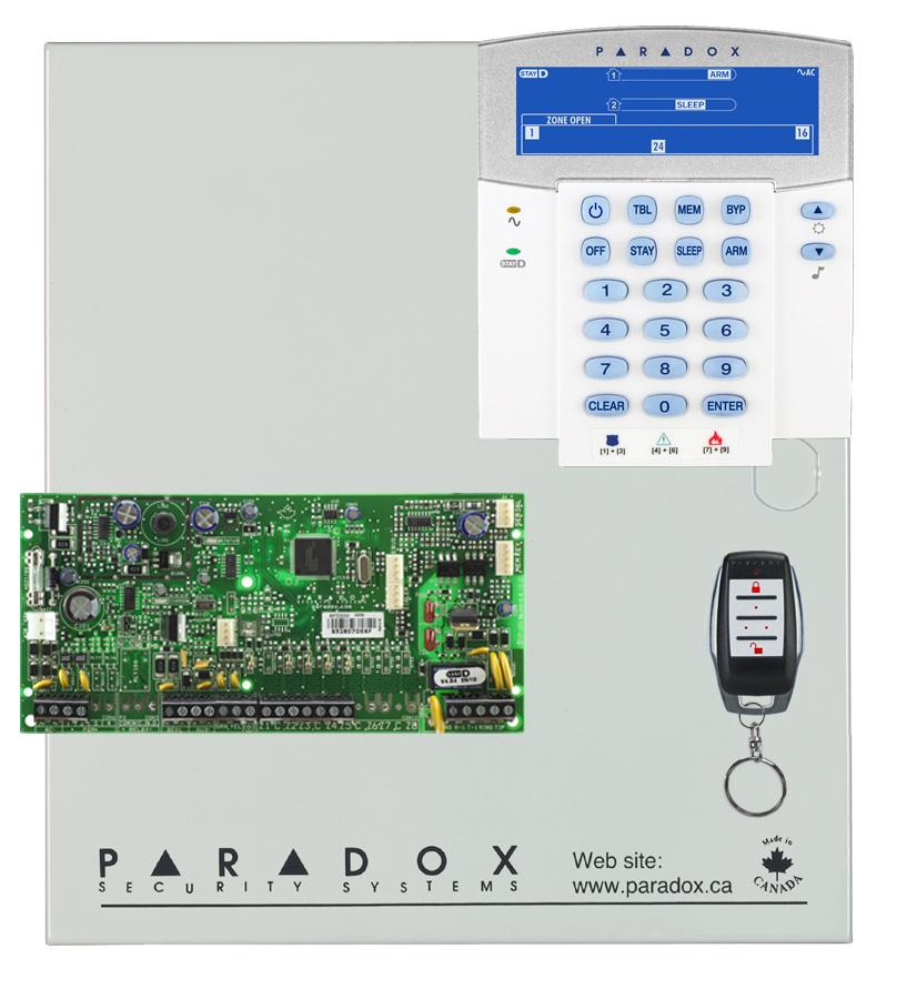 Centrale alarme PARADOX