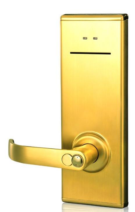 Serrure magnétique pour les portes d'hôtel