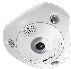 Caméra IP Fisheye Anti vandale 3MP