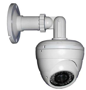 Caméra dôme infrarouge anti vandal 36 Leds