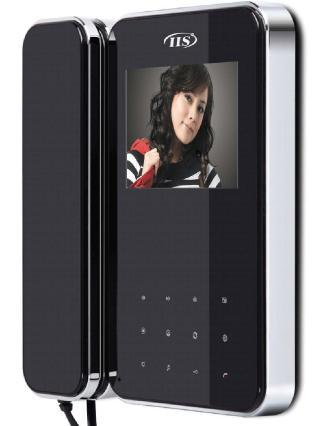 Moniteur mains- libres écran plat couleur LCD, équipé d'une carte SD