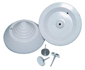 Tag Mini Cone RF + P01 Clou métal tête plate 16 mm