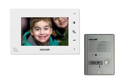 Vidéophone LCD mains Libres + Platine de rue MC24