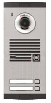 Platine de rue avec caméra couleur 2-boutons