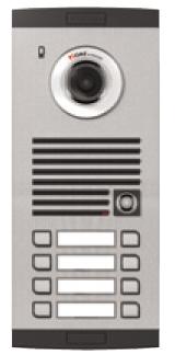 Platine de rue avec caméra couleur 8-boutons