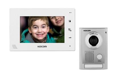 Vidéophone LCD mains Libres + Platine de rue MC30