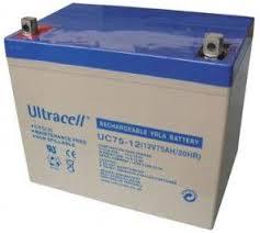 Batterie ULTRACELL UCG75-12