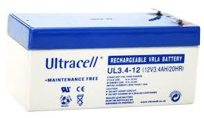 Batterie ULTRACELL UL3.4-12