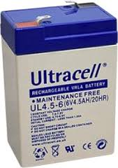 Batterie UL4.5-6
