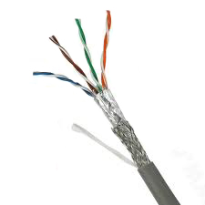 Câble réseau informatique 4 paires (avec écran) de Catégorie 5 FTP (Bobine de 305m).