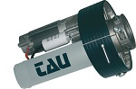 Motoréducteur pour rideau métallique, force de levage maxi 180 kg,