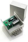 Récepteur radio extérieur à auto-apprentissage, 433,92 MHz, quadricanal universel, alimentation 230 V (mémoire 62 codes)